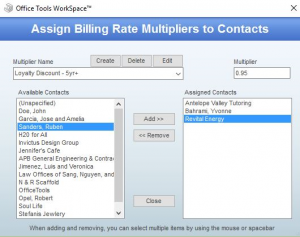 Billing Multiplier and Biling Tier User Guide 3