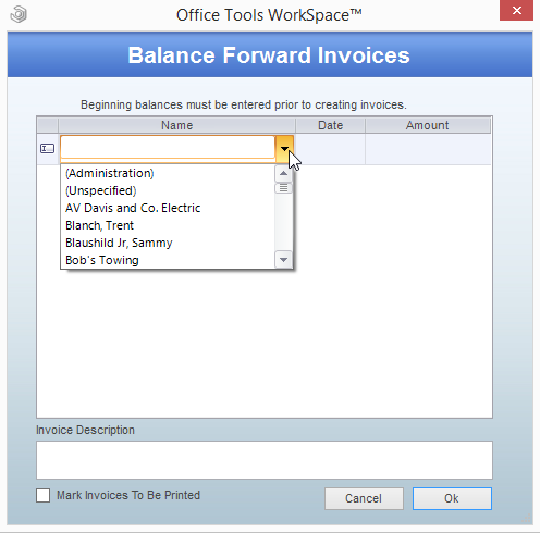 Beginning Balances User Guide 3
