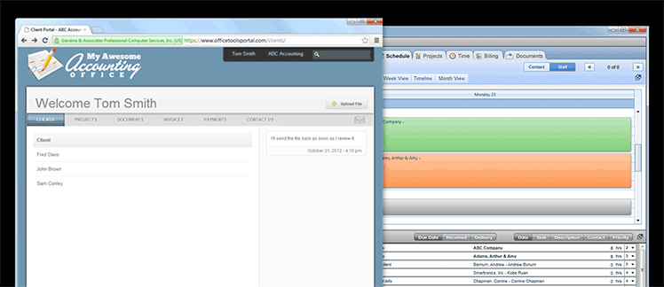 OfficeTools WorkSpace screenshots