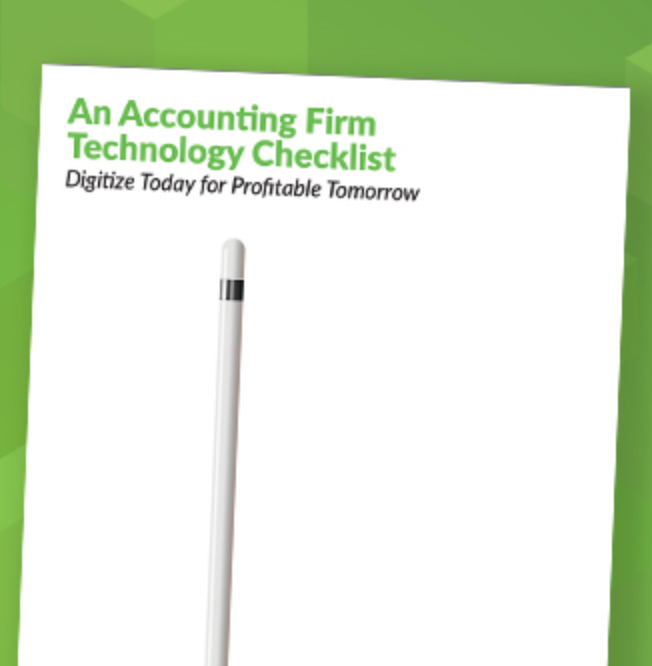 an accounting practice management checklist